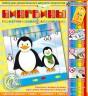 """Набор изготовление картины Пингвины 1 шт. (""""клеvер"""" АБ 15-059)"""