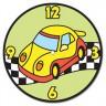 """Часы для раскрашивания цветным песком 1 шт. (""""Hobbius"""" СFP/S) 23см х 23см"""