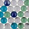 """Марблс стеклянные шарики 1 шт. (""""Blumentag"""" GLM-01/16) 16мм"""