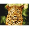 "Кристальная мозаика ""Фрея"" Леопард 1 шт. (ООО ""ПАННА"" ALV-2-23) 53см х 40см"