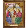 """Набор для изготовления картины из страз Икона Святая Троица коробка 1 шт. (""""Алмазная живопись"""" АЖ-5041)"""