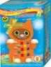"""Набор для изготовления фигурок из фетра Забавный котёнок блистер 1 шт. (""""клеvер"""" АЛ 42-102) 12см х 14см"""