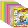 Бумага цветная флуоресцентная мелованная 8л. 8 шт. (BRAUBERG 124789) 200см х 280мм