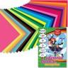 Бумага цветная мелованная 24л. 24 шт. (BRAUBERG 124783) 200см х 280мм