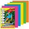 Картон цветной флуоресцентный 5 цветов блистер 10 шт. (BRAUBERG 124773) 200мм х 290мм