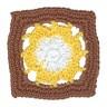 Декор Цветы набор 12 шт. (FL057) 60мм х 60мм