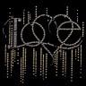 Термотрансфер Love 1 шт. (RTM- 160) 257мм х 248мм