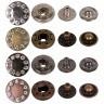 "Кнопка со стразами 1 шт. (""Micron"" PJS 003) 15мм металл"