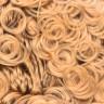 """Волосы для кукол и игрушек (кудрявые) 1 шт. (""""HobbyBe"""" HAR- 1) 70 гр. полиэстер-100%"""