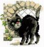 """Набор для вышивки """"Кошка"""" 1 шт. (""""Кларт"""" 4-052) 12см х 10см"""
