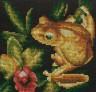 """Набор для вышивки """"Золотая лягушка"""" 1 шт. (""""Panna"""" Ж-0399) 12.5см х 12.5см"""