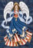 "Набор для вышивки ""Ангел"" 1 шт. (""Dimensions"" 06911) 13см х 18см"