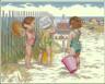"""Набор для вышивки """"Дети на пляже"""" 1 шт. (""""Dimensions"""" 35216) 36см х 28см"""