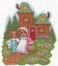 """Набор для вышивки """"Медвежата на прогулке"""" 1 шт. (""""Кларт"""" 8-061) 28см х 24см"""
