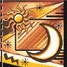 """Набор для вышивки """"Солнце"""" 1 шт. (""""Panna"""" Ф-0131) 21.5см х 21.5см"""