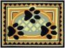 """Набор для вышивки """"Мой друг"""" коврик 1 шт. (""""Panna"""" КВ-0551) 50см х 36см"""