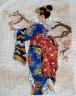 "Набор для вышивки ""Японка"" 1 шт. (""Dimensions"" 06760) 13см х 18см"
