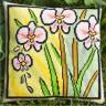 """Набор для вышивки """"Поляна орхидей"""" подушка 1 шт. (""""Panna"""" ПД-686) 40см х 40см"""
