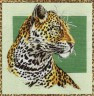 """Набор для вышивки """"Леопард"""" 1 шт. (""""Panna"""" Ж-0664) 31.5см х 31.5см"""