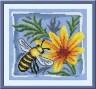 """Набор для вышивки """"Трудолюбивая пчелка"""" 1 шт. (""""Panna"""" ПС-0630) 16.5см х 15см"""