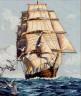 "Набор для вышивки ""Корабль"" 1 шт. (""Dimensions"" 03886) 30см х 36см"