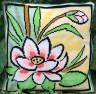 """Набор для вышивки """"Водяная лилия"""" подушка 1 шт. (""""Panna"""" ПД-689) 40см х 40см"""