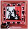 """Набор для вышивки """"Горячий чай"""" подушка 1 шт. (""""Panna"""" ПД-523) 36см х 36см"""