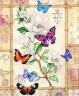 "Набор для вышивки ""Бабочки на цветке"" 1 шт. (""Dimensions"" 35063) 41см х 30см"