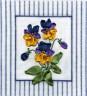 """Набор для вышивки """"Дыхание весны"""" 1 шт. (""""Panna"""" Ц-0435) 13см х 14см"""