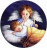 """Набор для вышивки """"Ангел-хранитель"""" 03873 1 шт. (""""Dimensions"""" 03873) 25см х 25см"""