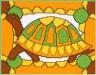 """Набор для вышивки """"Черепаха"""" 1 шт. (""""Panna"""" Д-0449) 18см х 14см"""