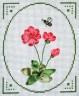 """Набор для вышивки """"Нежные цветы"""" 1 шт. (""""Panna"""" Ц-0415) 11.5см х 14см"""