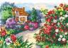 """Набор для вышивки """"Цветущий сад"""" 1 шт. (""""Чудесная Игла"""" 52-03) 28см х 20см"""