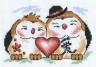 """Набор для вышивки """"Любовь в доме"""" 1 шт. (""""Panna"""" И-0590) 16см х 11см"""