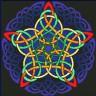 """Набор для вышивки """"Кельтская звезда"""" 1 шт. (""""Panna"""" О-0208) 33.7см х 33.7см"""