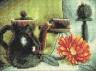 """Набор для вышивки """"Натюрморт с цветком"""" 1 шт. (""""Panna"""" Н-0460) 15см х 10см"""