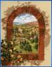 """Набор для вышивки """"Мечты о Тоскане"""" 1 шт. (""""Janlynn"""" 023-0244) 27.9см х 35.6см"""