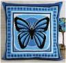 "Набор для вышивки ""Бабочка "" подушка 1 шт. (""Panna"" ПД-550) 36см х 36см"