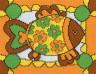 "Набор для вышивки ""Рыба"" 1 шт. (""Panna"" Д-0448) 18см х 14см"