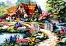 "Набор для вышивки ""Цветущий сад"" 1 шт. (""Dimensions"" 02461) 41см х 30см"