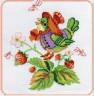 """Набор для вышивки """"Птичка в шляпке"""" 1 шт. (""""Panna"""" ПТ-0532) 17.8см х 17.8см"""