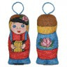 """Набор для вышивки """"Игрушка-Ванька с гармошкой"""" игрушка 1 шт. (""""Panna"""" ИГ-1187) 6см х 12см"""