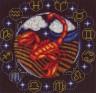 """Набор для вышивки """"Знаки Зодиака. Скорпион"""" 1 шт. (""""Panna"""" ЗН-0929) 21см х 20.5см"""