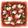 """Набор для вышивки """"Букет цветов"""" 1 шт. (""""Panna"""" КИ-0711) 40см х 40см"""