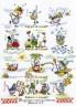 """Набор для вышивки """"Календарь радости"""" 1 шт. (""""Panna"""" ВК-0605) 39см х 51см"""
