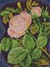 """Набор для вышивки """"Кремовая роза"""" 1 шт. (""""Panna"""" ВХ-0598) 21.5см х 28.5см"""