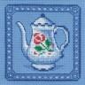 """Набор для вышивки """"Кофейник"""" 1 шт. (""""Panna"""" Н-0479) 12см х 12см"""