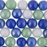"""Марблс стеклянные шарики 1 шт. (""""Blumentag"""" GLM-02/16) 16мм"""