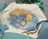 """Набор для вышивки """"Золотые сны"""" одеяло 1 шт. (""""Dimensions"""" 03239) 109см х 86см"""