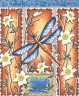 """Набор для вышивки """"Стрекоза"""" 1 шт. (""""Panna"""" Н-0186) 22.5см х 27см"""